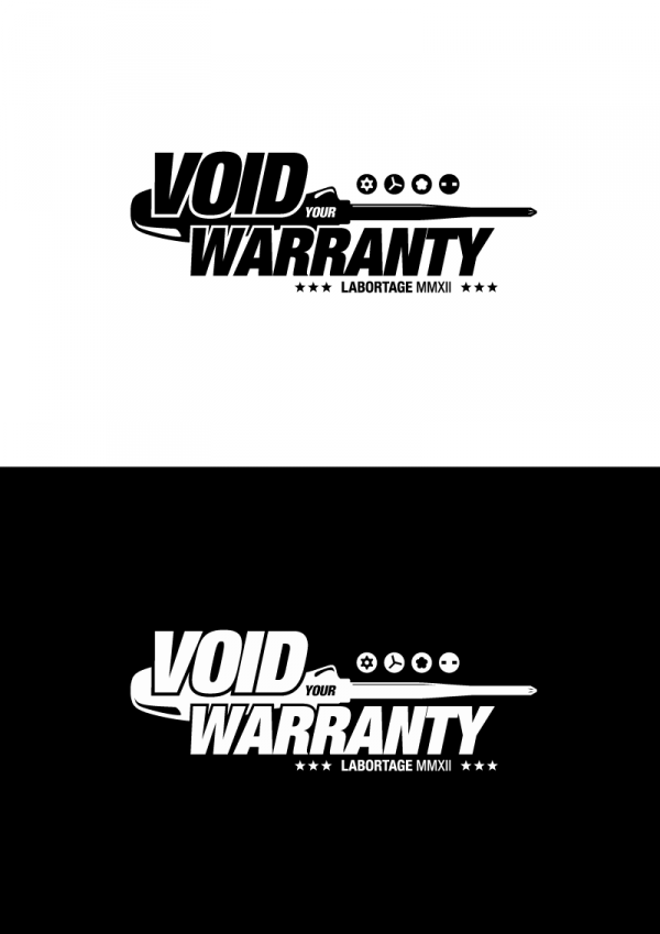Labortage 2012 void your warranty logo black white.png